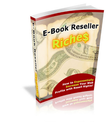 Product picture E-book Reseller Richers-Marketing Ideas