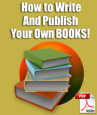 Product picture How To Write And Publish Your Own Books-Self Publish Books