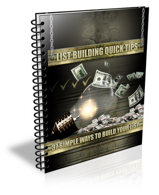 Product picture List Building Quick Tips-How To Make Money Online