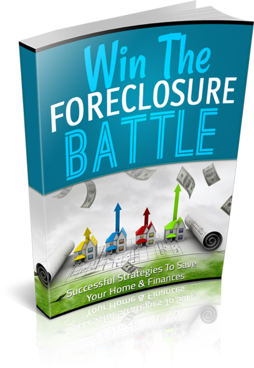 Product picture Win The Foreclosure Battle