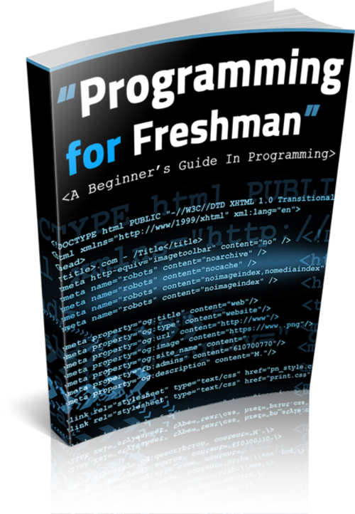 Product picture Programming for Freshman  mrr
