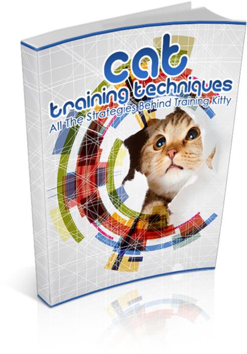 Product picture Cat Training Techniques mrr.